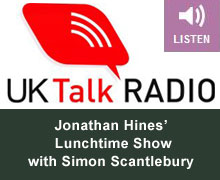 Listen to Simon On UK Talk Radio